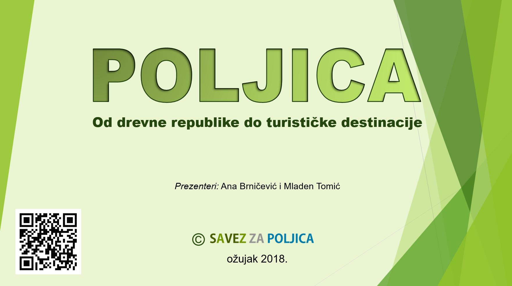 MEĐUNARODNA PREMIJERA POLJICA KAO TURISTIČKOG BRENDA