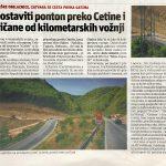 U povodu najave zatvaranja ceste kroz Zakučac (2): JE LI PONTONSKI MOST RJEŠENJE?