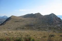 Vrhovi Veliki Perun i Perunić, s vrha Perunsko (foto Fea Munitić)