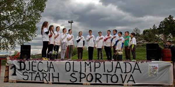 Dolac Donji: Prva dječja olimpijada tradicijskih sportova