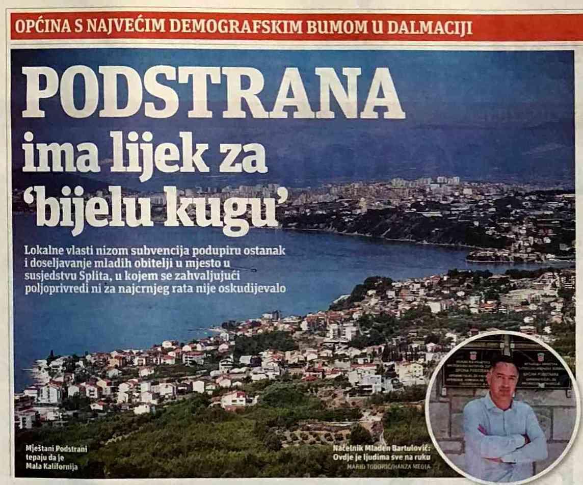 DEMOGRAFSKI 'BUM' U PODSTRANI