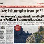 U povodu najave zatvaranja ceste kroz Zakučac (4): MOŽE LI JADNIJE IZVJEŠTAVANJE?!